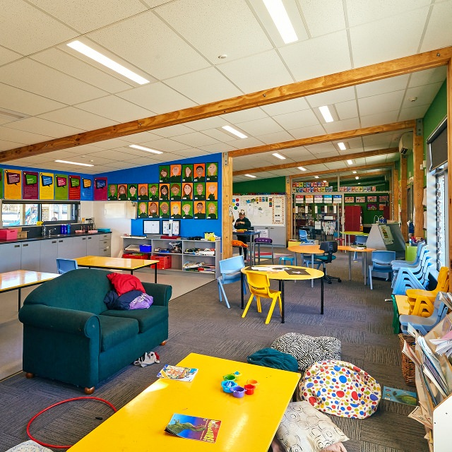Spring Creek School learning spaces