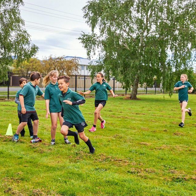 Spring Creek School relay