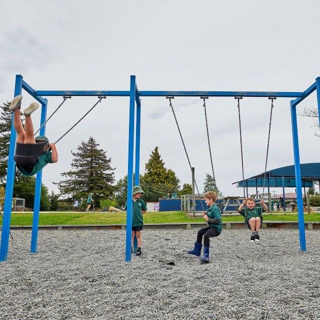 Spring Creek School swings