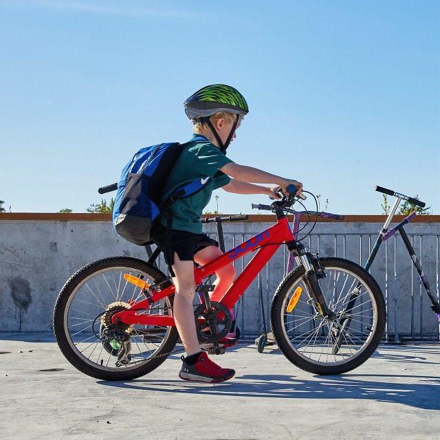 Spring Creek School bikes