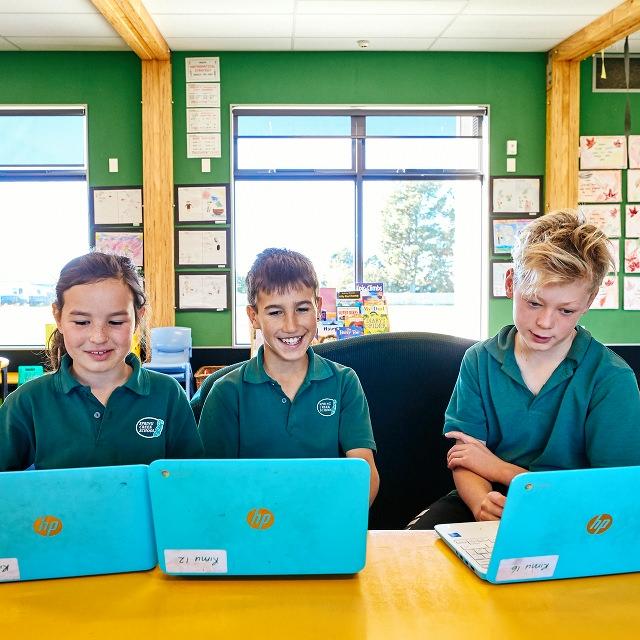 Spring Creek School Chromebooks