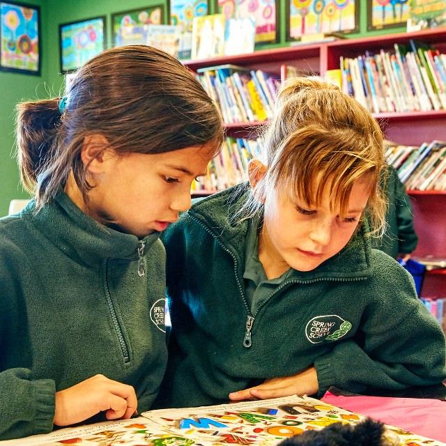 Spring Creek School reading